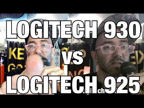 LOGITECH c925e vs c930 WEBCAM REVIEW AND SIDE-BY-SIDE COMPARISON