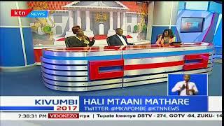 Hali ya usalama maeneo ya Mathare baada ya rabsha kuibuka kuhusu utetezi wa uchaguzi mkuu