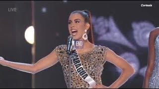 Adriana Paniagua se toma escenario en preliminar de Miss Universo