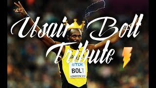 Usain Bolt ● The King | Video Tribute HD |  Watch until the end!