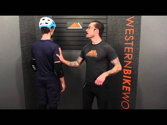 Видео Шлем POC Trabec Race MIPS бело-черный