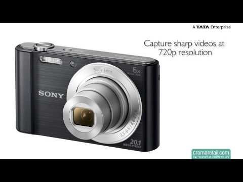 Sony Cyber-shot DSC-W810 20.1 MP Digital Camera