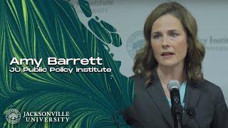 Hesburgh Lecture 2016: Professor Amy Barrett at the JU Public Policy Institute