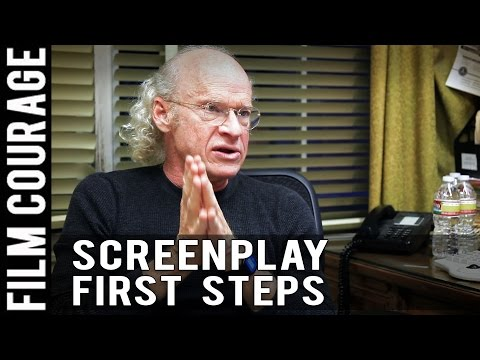First Step In Writing A Screenplay By Richard Walter
