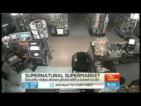 Ghost Haunts Australian Supermarket
