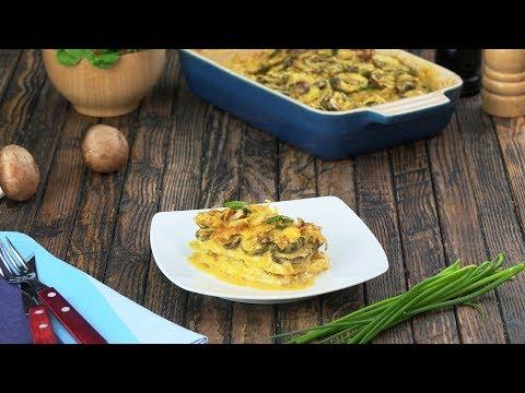 ¡Qué original! Filetes con curry al gratín