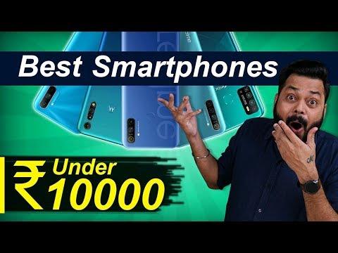 Top 5 Best Mobile Phones Under ₹10000 Budget ⚡⚡⚡ June 2020
