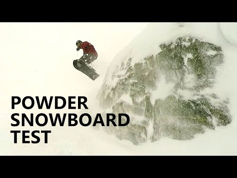 Burton VS Lib Tech Powder Snowboard Test