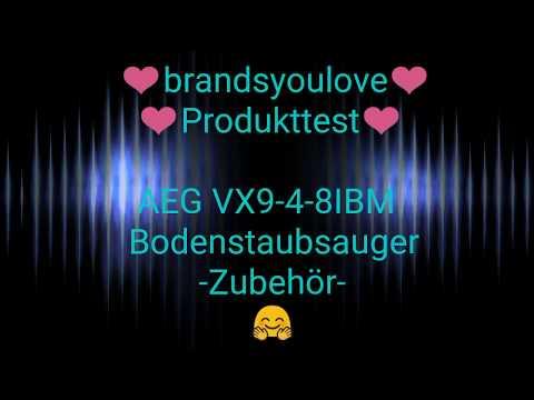 brandsyoulove Produkttest AEG VX9-4-8IBM Bodenstaubsauger Zubehör