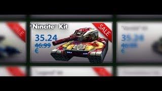 """Tanki online - New """"Nincite"""" Kit ! Railgun - Viking XT! танки Онлайн"""