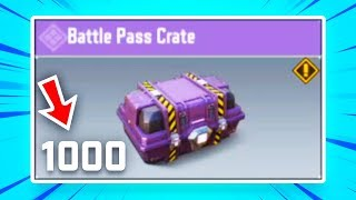 I Opened ALL My Crates At Once In COD: Mobile...
