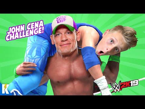 John Cena Challenge in WWE 2k19 (Rise of Little Flash Part 10!) KIDCITY GAMING