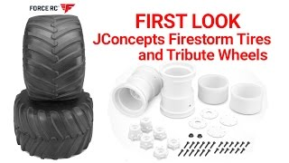 WHAT'S IN THE BOX?!? JConcepts Tribute Wheels And Firestorm Tires - Force RC