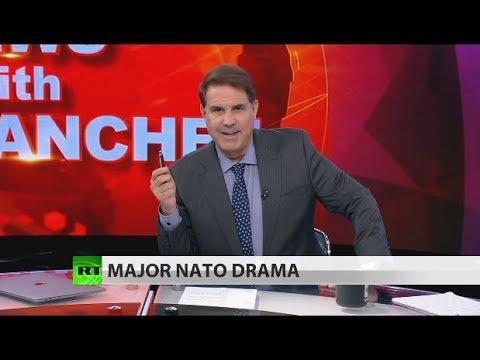 NATO summit descends into circus (Full show)
