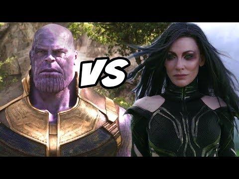 Thanos VS Hela in MCU Explained Hindi Avengers Endgame & Thor Ragnarok