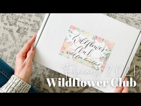Wildflower Club Unboxing February 2021