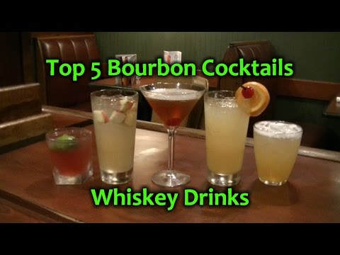 Video Top 5 Bourbon Cocktails Best Whiskey Drinks