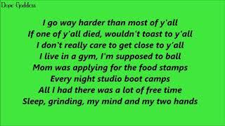 Russ   AINT GOIN BACK (Lyrics)
