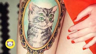 Best Cat Tattoo Ideas Ever (2020) For Cat Lovers