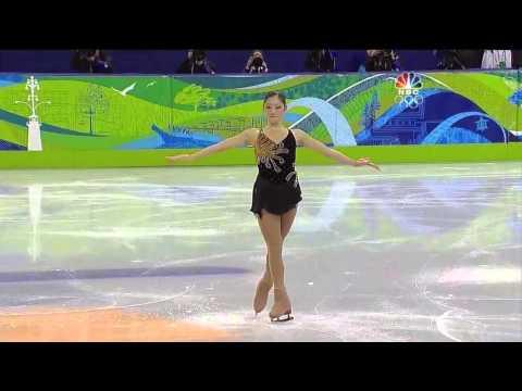 2010 Vancouver Winter Olympics Mirai Nagasu SP