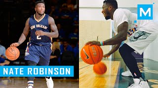 Nate Robinson Basketball Dribbling Drills & Conditioning Training | Muscle Madness