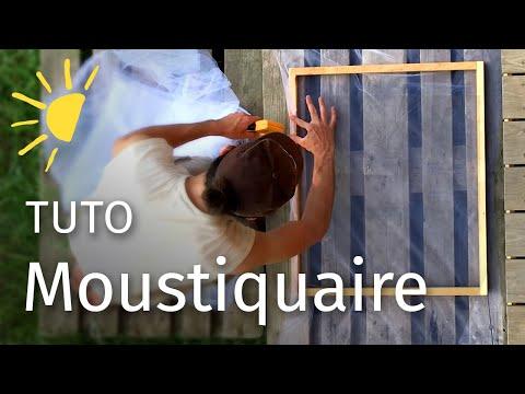 Fabriquer une moustiquaire pour fenêtre (Très facile)