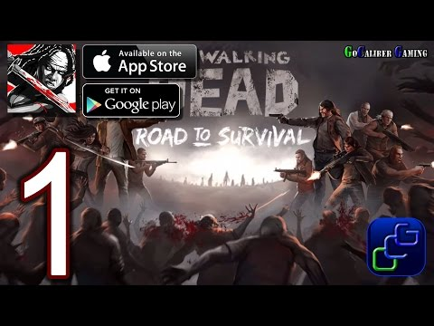 Walking Dead: Road To Survival Android iOS Walkthrough - Gameplay Part 1 - Homemart 1-2