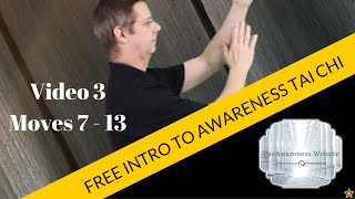 FREE Introduction to Awareness Tai Chi | Video 3 Moves 7 - 13