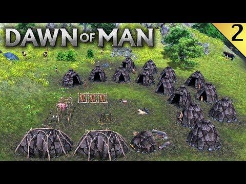 DAWN OF MAN #2 | AMPLIANDO LA POBLACIÓN | Gameplay Español