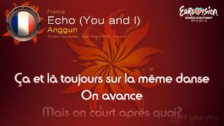 "Anggun - ""Echo (You And I)"" (France) - [Karaoke version]"