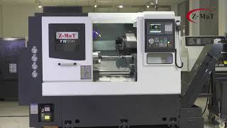 Most Popular Slant Bed Turning Center. Turning Machine TN500 from Z-MaT