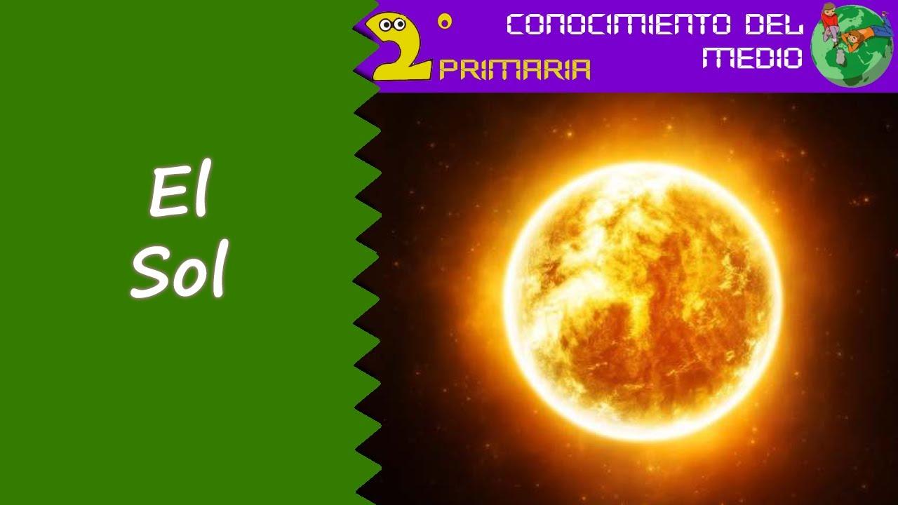 Cono, 2º Primaria. Tema 10. El Sol