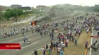 Dân Venezuela tiếp tục biểu tình chống tổng thống độc tài (VOA)