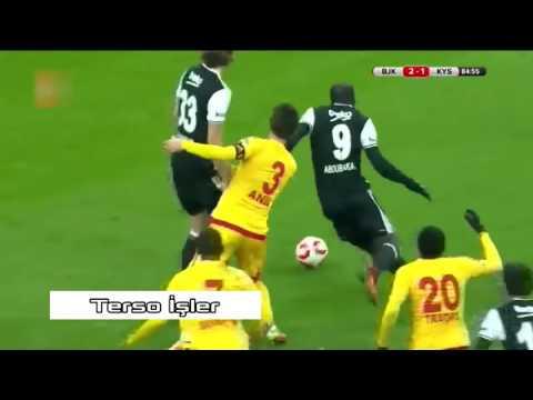Aboubakar Tüm Goller 2017 • Beşiktaş Golleri • 18 Gol • HD (видео)
