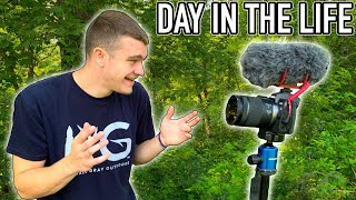 Day in the Life of Kendall Gray! (Behind the Scenes)