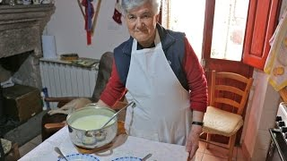Discover Cheese and Pasta Soup from Sardinia! | Pasta Grannies