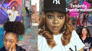 """Celebrity Transformation: 90's Mary J. Blige """"Real Love"""" 