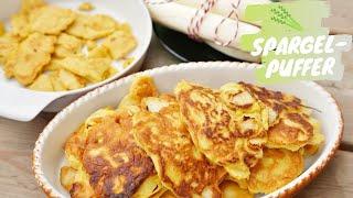 Spargelpuffer | Kratzete | Spargelpfannenkuchen - mit Dagmar von Cramm