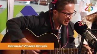 Carmesí - Vicente Garcia en Los 40 Colombia