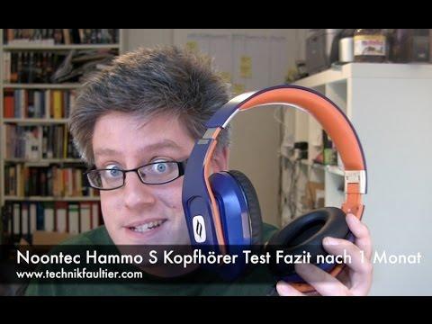 Noontec Hammo S Kopfhörer Test Fazit