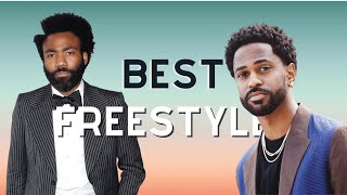 Best Freestyle? (Big Sean/Childish Gambino/G-Eazy/Hopsin/Logic)
