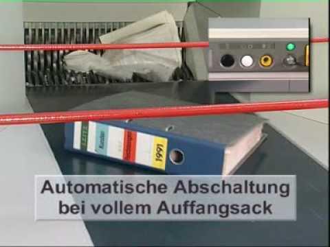 Aktenvernichter IDEAL 5009 (www.ideal.de)