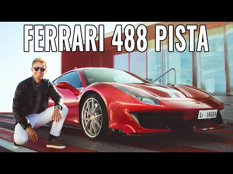 I RACED THE FERRARI 488 PISTA AT FRENCH F1 TRACK!!