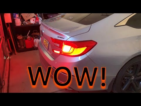 Best LED turn signal bulbs for the 2018 2019 Honda Accord