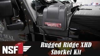 NSF1 Project Jeep Part 22: Rugged Ridge XHD Snorkel Kit
