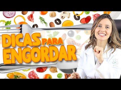 Imagem ilustrativa do vídeo: Dieta para subir de peso