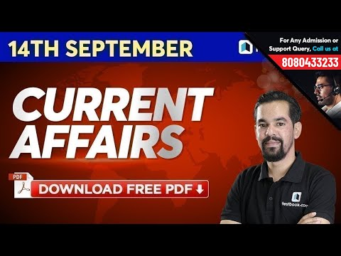 14 September Current Affairs in Hindi   Latest News   Daily Current Affairs Show by Mahesh Sir #400
