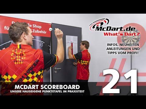 What's Dart? #21 - McDart Scoreboards - Unsere hauseigene Punktetafel im Praxistest