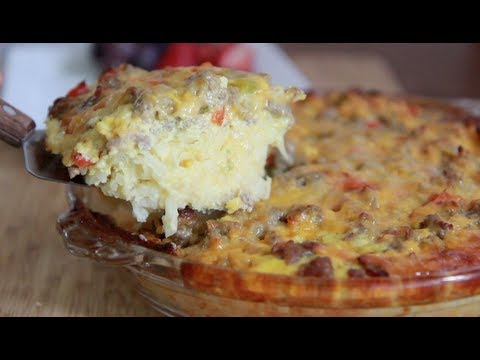 Sausage Hash Brown Casserole Recipe – Brunch anyone?
