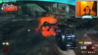 Black Ops 2 Zombies: Nuketown Round 41 Gameplay! & Bus Depot Livestream! w/Syndicate